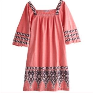 Calypso St Bart's Embroidered Dress